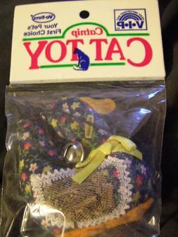 1 Dozen  VIP Vo-Toys duck catnip cat toy with bell on string