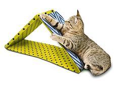 Pet Zone 2-in-1 Dual Incline Cat Scratcher