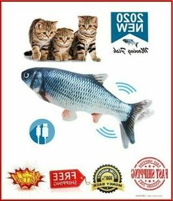 """1 Flippity Fish Cat Toy Electric Floppy Fish Cat Toy Moving"