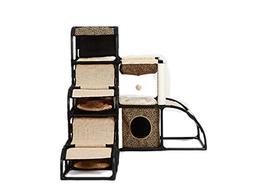 Leowow 5 in 1 Multi-functional Cat Tree Furniture Cat House