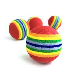 1 Pcs Pet Ball <font><b>Toy</b></font> Colorful EVA Rubber S