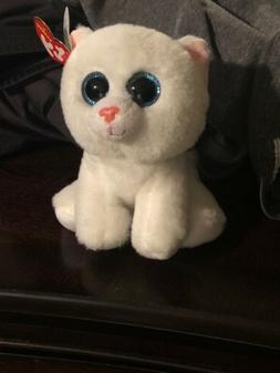 10 beanie boos pearl kitten cat white