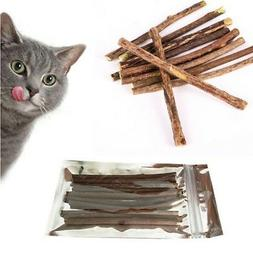 natural silvervine cat matatabi chew stick catnip