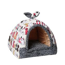 Hollypet 12 × 12 × 14 inches Self-warming Comfortable Tria