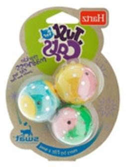 Hartz 12513 Just For Cats Sparkle Madness Toys Assorted Colo