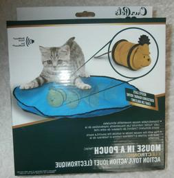 Our Pets 1400013428 Opb Mouse in Pouch Electronic Action Toy