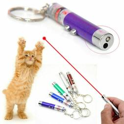 1pc Cat Pet Toys LED Laser Light Pointer Pen Play Interactiv