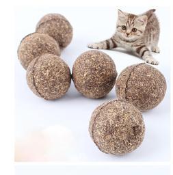1PC Pet Cat Toys Natural Catnip Healthy Funny Treats Ball Fo