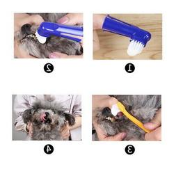 1PC Pet Toothpaste Toothbrush Dental Health Care for Dogs Ca