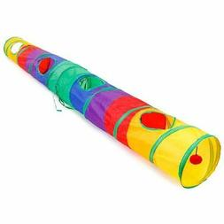 1X(Cat Tunnel Pet Tube Collapsible Play Toy Indoor Outdoor K