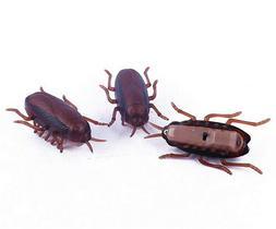 1x Funny Electronic Cockroach Pet Cat Dog Kitten Interactive