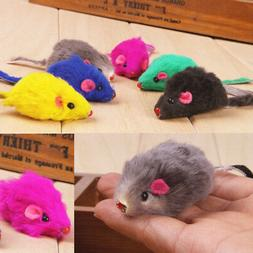 2/10pcs Kitten Car Play Playing Toys False Mouse in Rat For