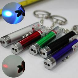2 In1 Mini Red Laser Pointer Pen With White LED Light Child