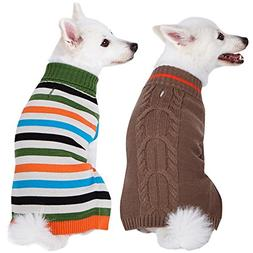 Blueberry Pet 2 Patterns Pack of 2 Winter Coziness Cool Tone