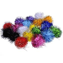 20 Piece Assorted Color Sparkle Balls My Cat's All Time Favo