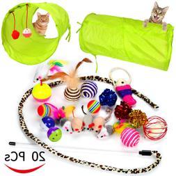 20 cat toys kitten