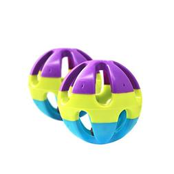 COPPEN 2018 New Colorful Plastic Ring Balls Dog Cat Hamster