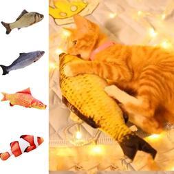20cm Cat Fish Realistic Plush Toy Simulation Catnip Gift Pet