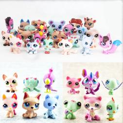 24pcs Littlest Pet Shop Big Eyes Hasbro LPS Animal Cats Dogs