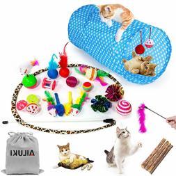 AILUKI 26PCS Cat Toys Kitten Toys Assortments, Variety Catni