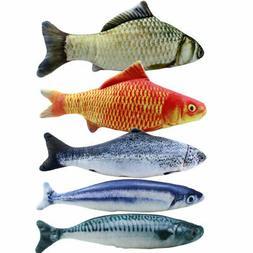 2X(5PCS Catnip Fish Toys for Cat 20Cm Cat Toys Cat Fish Pill