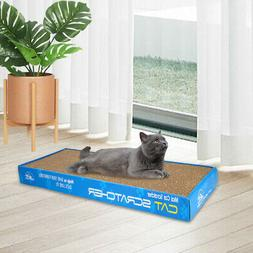 Dual-sided Cat Scratching Corrugated Board Scratcher Bed Pad