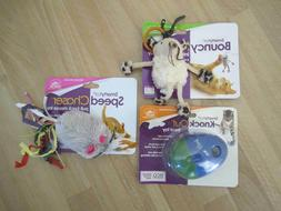 3 NEW CAT TOYS - SMARTYKAT- TREAT TOY-SPEED CHASER MOUSE-BOU