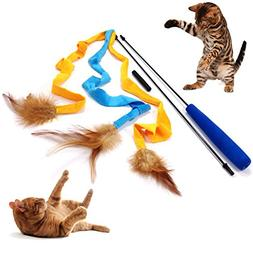 Pet Fit For Life 3 Soft Strands with Feathers Teaser and Exe