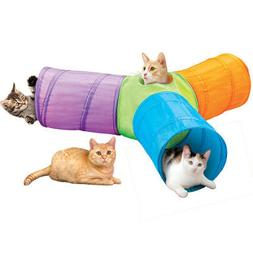 3 way pop up cat tunnel