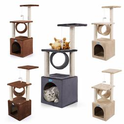 36 cat tree house condo tower scratching