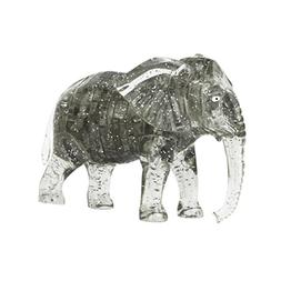 E-SCENERY 41pcs 3D Cute Crystal Elephant Model DIY Gadget Bu