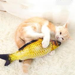 3D Fish <font><b>Plush</b></font> <font><b>Cat</b></font> Pe