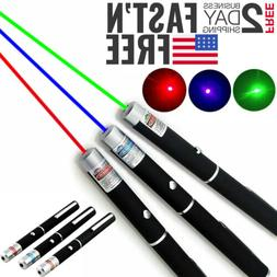 3pcs green red blue purple laser pointer