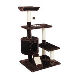 Cat Craft 4304601 Deluxe Feeder Perch Cat Tree, 41 Inch