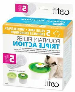 Catit Cat Fountain Replacement Filters - 43746 - Triple Acti
