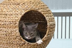 44 Sphere Scratch Post Cat Tree