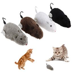 4pcs Mouse Interactive Mechanical Motion Rats Cute Toy For P