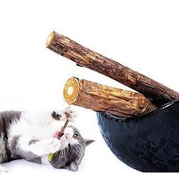 Stock Show 5Packs Cat Cleaning Teeth Pure Natural Catnip Pet