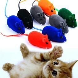 5pcs toys realistic interactive sound cat toys