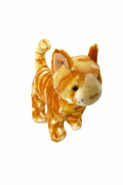 8 Inch Mini Plush Orange Tabby Cat Twinkie Stuffed Animal Ki
