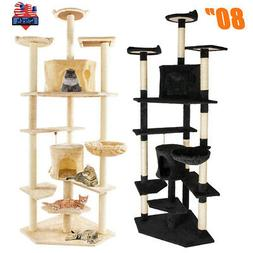 80 cat tree tower condo furniture bed