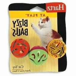 Hartz 82183 At PlayTM Bizzy Balls® Cat Toy Assorted Styles