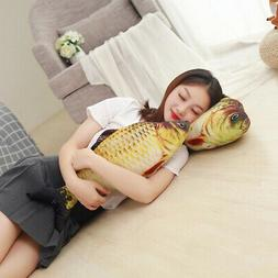 8inches simulation fish plush toy cat play