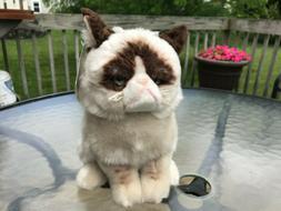 9 Extra Soft and Silky Grumpy Cat Plush Stuffed Animal Toy