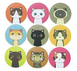 90 Lovely Kitty Cat Stickers for School Office Party Home Ho