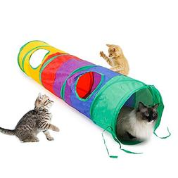 Ace one Cat Tunnel Pet Tube Collapsible Play Toy Indoor Outd