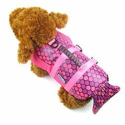 Alfie Pet by Petoga Couture - Reagan Mermaid Pet Life Jacket