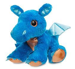 Aurora World 60859 Sparkle Tales Flash Dragon Soft Toy, Blue