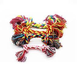 BECKY,2/3 pcs 5.9''-11.8''Flossy Chews Rope for Larde Medium