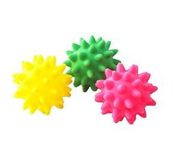 BECKY,3/5 Pcs 2.5 inch Small Squeaky Dog Ball Made In Soft R